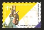 Sellos de Europa - Bosnia Herzegovina -  Juan Pablo II, emisión conjunta con Serbia