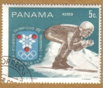 Stamps Panama -  JJOO de Grenoble 1968