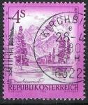 Sellos de Europa - Austria -  Almsee, Oberöstereich. El lago del alma.