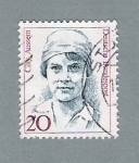 Stamps Germany -  Cilly Ausemm
