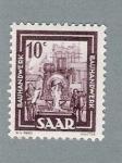 Stamps Germany -  Saar