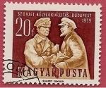 Sellos de Europa - Hungría -  Lazos de amistad soviéticos - Budapest