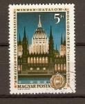 Sellos de Europa - Hungr�a -  PARLAMENTO.  BUDAPEST