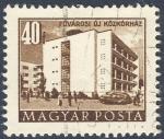 Stamps Hungary -  Fovarosi oj Kozkorhaz