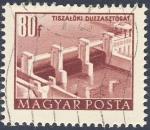 Sellos de Europa - Hungría -  Tiszaloki Duzzasztogat