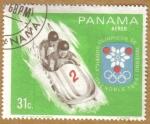 Sellos del Mundo : America : Panamá : JJOO de Grenoble 1968