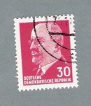 Stamps Germany -  Hombre