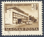 Stamps Hungary -  Mavaut Kozponti Palyaudvar Budapest