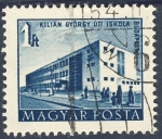 Stamps Europe - Hungary -  Kilian Gyorgy Uti Iskola Budapest