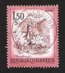 Sellos de Europa - Austria -  vista de bludenz