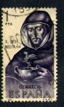 Stamps Spain -  S. Luis Beltran