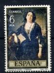 Stamps Spain -  marquesa de montelo-f. madrazo