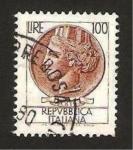 Stamps : Europe : Italy :  lucia de siracusa (siracusana)