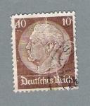 Stamps Germany -  Presidente Hinderburg