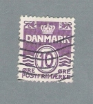 Stamps Denmark -  Escudo