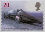 Sellos de Europa - Reino Unido -  Sir Malcolm Campbell - 1925  -151 mph - record de velocidad