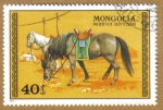 Stamps Mongolia -  Caballos