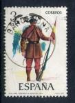 Stamps Spain -  Cabo cazadores de infanteria 1860
