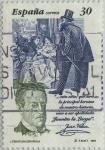 Sellos de Europa - España -  literatura española-Personajes de ficcion-Juan Valera-1995