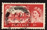 Sellos de Europa - Reino Unido -  Castillos