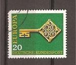 Sellos de Europa - Alemania -  Tema Europa.