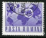 Stamps Romania -  Comunicaciones telegráficas.
