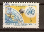 Stamps El Salvador -  METEREOLOGÁ