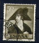 Sellos de Europa - España -  dia del sello-goya
