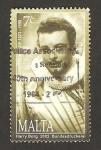 Stamps : Europe : Malta :  Oreste Kirkop, cantante de òpera