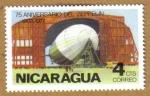 Sellos del Mundo : America : Nicaragua : 75 Aniversario de Zeppelin 1902-77