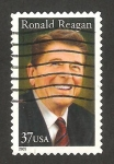 Sellos de America - Estados Unidos -  Ronald Reagan, político y actor