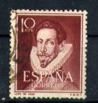 Stamps Spain -  literatos-lope de vega