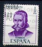 Sellos de Europa - España -  Guillén de Castro- Literato