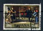 Stamps Spain -  dia del sello-eduardo rosales y martín