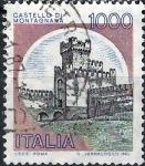 Sellos del Mundo : Europa : Italia :  Castillos de Italia. Montagnana.