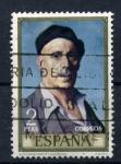 Sellos de Europa - España -  zuloaga autorretrato