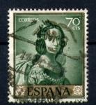 Sellos de Europa - España -  Santa Casilda- Zurbaran- Día de Sello