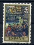 Stamps Spain -  De vuelta de la pesca- Solana