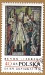 Stamps Poland -  Pintura Dzien Znaczka 1970