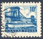 Stamps Hungary -  embarcacion