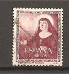 Stamps Spain -  XXXV Congreso Eucaristico.