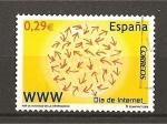 Sellos de Europa - España -  Dia de Internet.