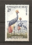 Stamps Niger -  Grullas.