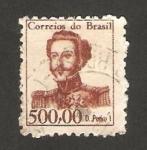 Sellos del Mundo : America : Brasil : pedro I de Brasil y IV de Portugal