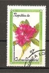 Sellos de Africa - Guinea Ecuatorial -  flores.