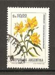 Stamps Argentina -  flores.