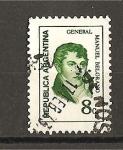 Stamps Argentina -  Manuel Belgrano.