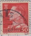 Sellos de Europa - Dinamarca -  Federico IX-1961-1962