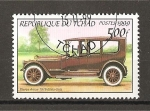 Stamps Chad -  Automoviles de Epoca.