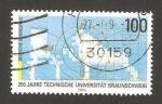 Sellos de Europa - Alemania -  250 anivº de la universidad técnica de brunswick